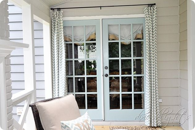 Southern Porch Reveal {Before