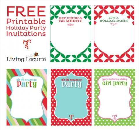 Free Christmas Invitations Printable Template Free Printable Christmas  Party Invitations Templates Cimvitation, Printable Christmas Invitation  Holiday ...  Downloadable Christmas Party Invitations Templates Free