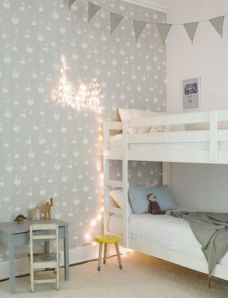 etagenbett im geteilten kinderzimmer - Einfache Hausgemachte Etagenbetten