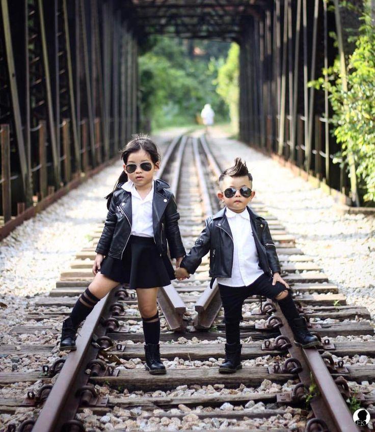 "20.7 mil Me gusta, 117 comentarios - Fashion Kids (@fashionkids) en Instagram: ""The cool kids club! @wendology . O clube das crianças cool! @wendology"""