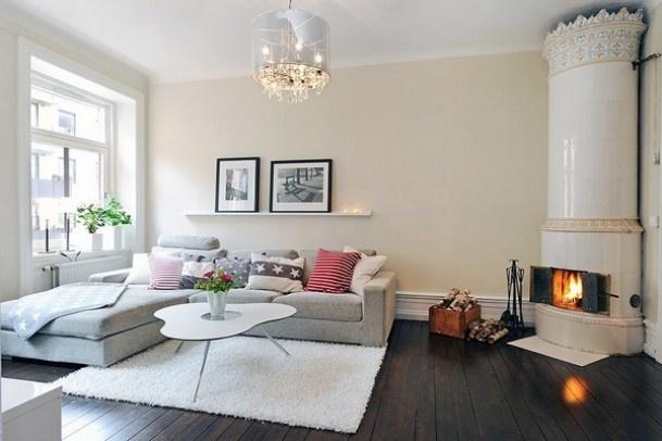 inspiratie woonkamer | de donkere vloer in combinatie met de, Deco ideeën