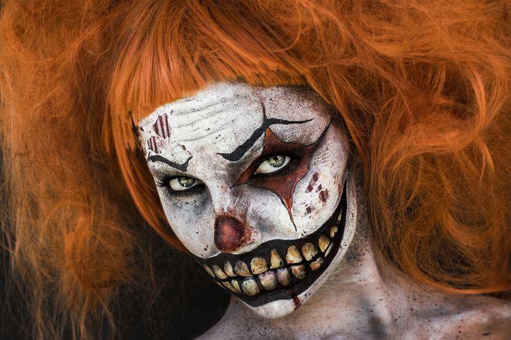 Best 25+ Scary Clown Makeup Ideas On Pinterest