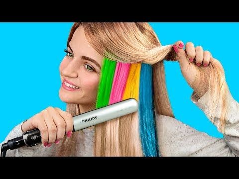 9 Cool Hairstyles To Make Under A Minute Hair Hacks Youtube