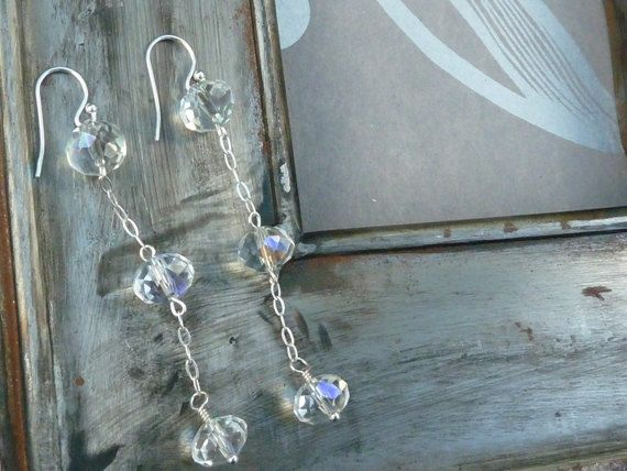 SALE  Swing 'Em  Faceted Glass Bead and Sterling by graceofeden, €5.00