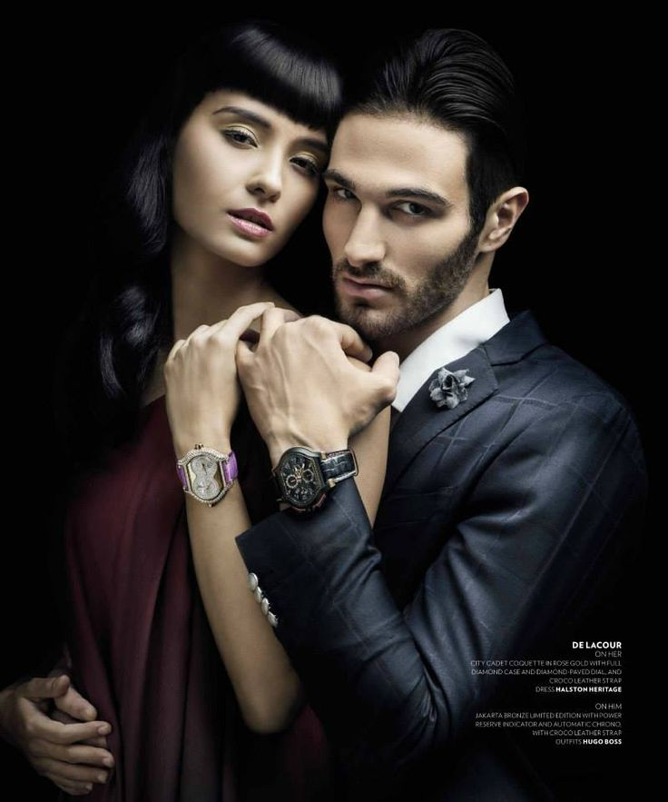 fotografer by Denny Tjan stylist by Koko Namara make up and hair Karya Dave Rio model Salvita DeCorte & Daniel Mazzola