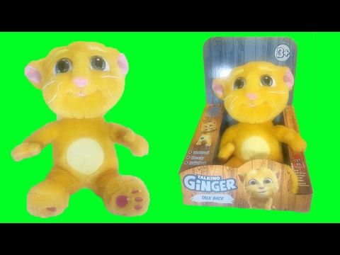 Talking Ginger Talk Back Stuffed Animal Plush Chat Doll - YouTube