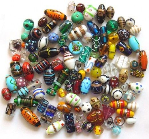 Where to buy beads for jewelry-making. Several places to buy wholesale beading supplies.