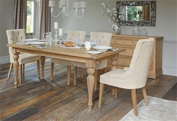 Shaftesbury Oak Extending Dining Table