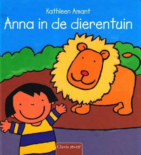 Prentenboek - Anna in de dierentuin, Kathleen Amant