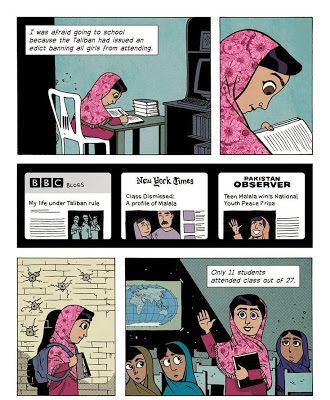 Kiss from a Rose: La historia de Malala Yousafzai