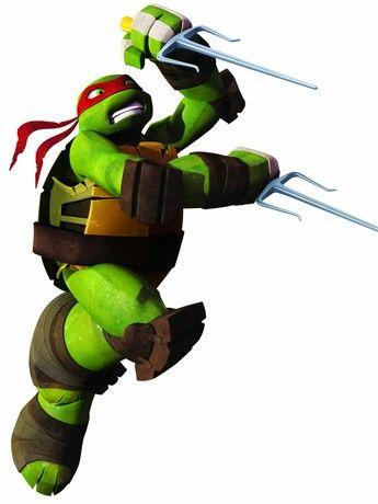 Room Mates 539017 Ninja Turtles Raphael giant wall decal