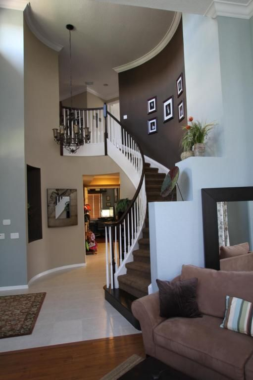 Love this home pinterest paint colors accent walls for Brown colors for walls