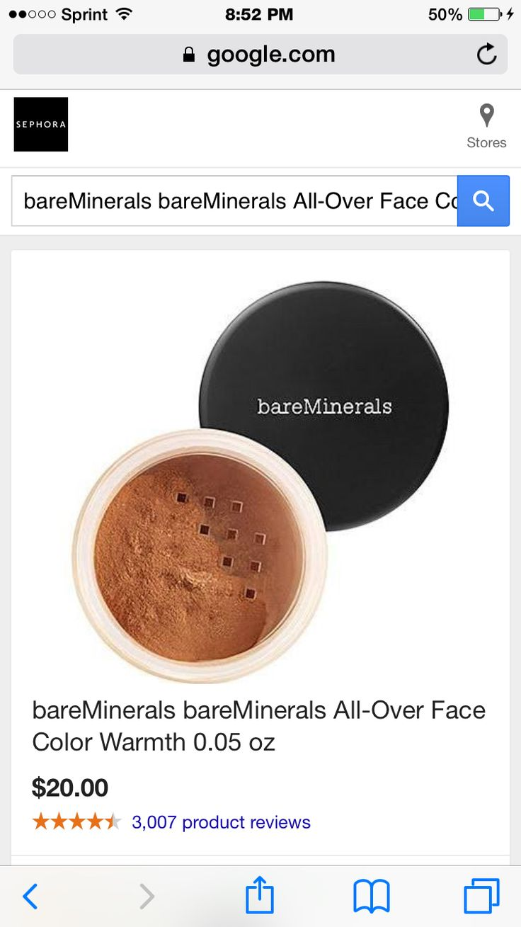 My favorite! Warmth from Nare Minerals. @ Ultra. Sophora. Bare minerals store.