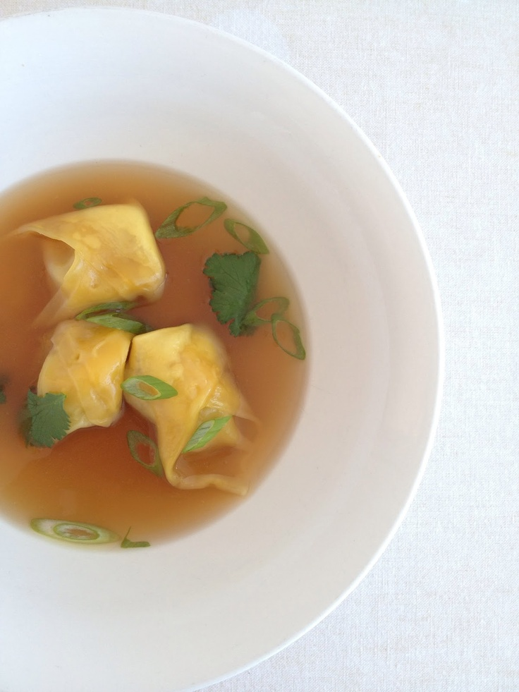 what caroline cooked: Pork and Crab Wonton Soup