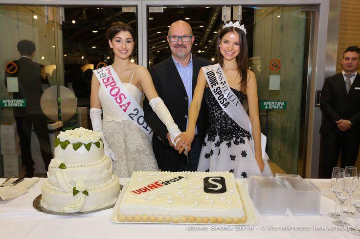 il taglio della torta UdineSposa 2016