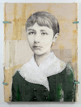 2012 Camille Claudel (Sculptor) from series 'They Became Famous' by Louis Boudreault (b1956; Havre-Aubert, Magdalen Islands)