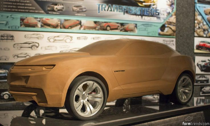 Tect Taxi, Tesla Coupe and Camaro « Form Trends
