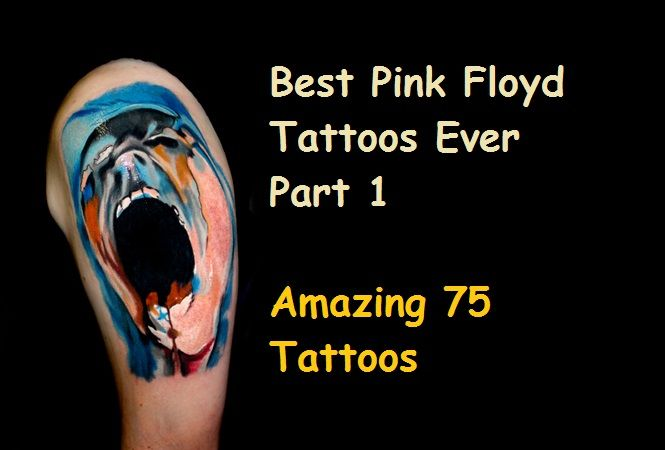 Best Pink Floyd Tattoos Ever- Part 1 (75 Tattoos)
