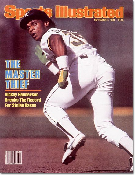 Rickey Henderson, Baseball, Oakland Athletics
