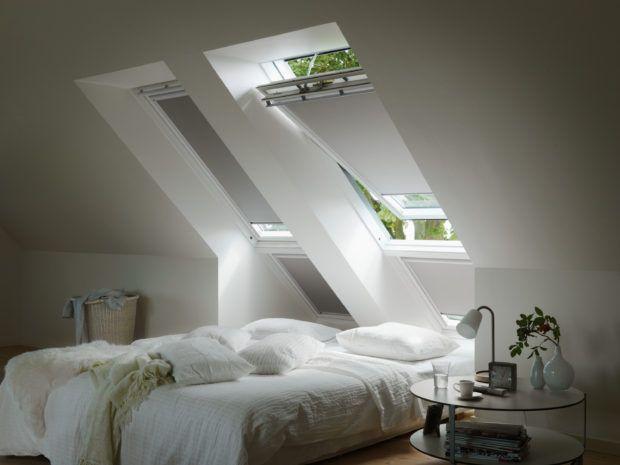 Lekker slapen heb je zelf in de hand met Velux raamdecoratie. Upgrade nu je dakraam met Velux raamdecoratie, zonwering of rolluiken.