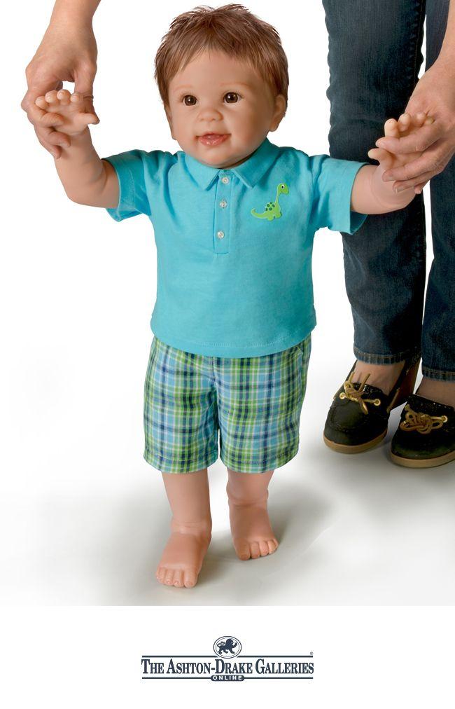 Help This Lifelike Baby Doll By Linda Murray Take His
