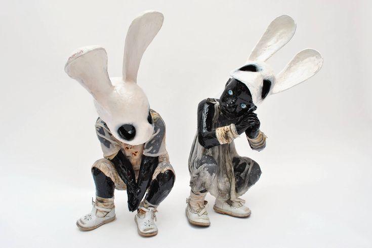 """Paul Toupet – Sculpture """"Discussion"""" 2016"""