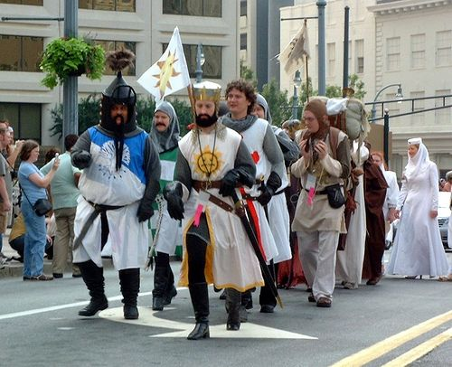 The knights of camelot - monty python... pure awesomeness!