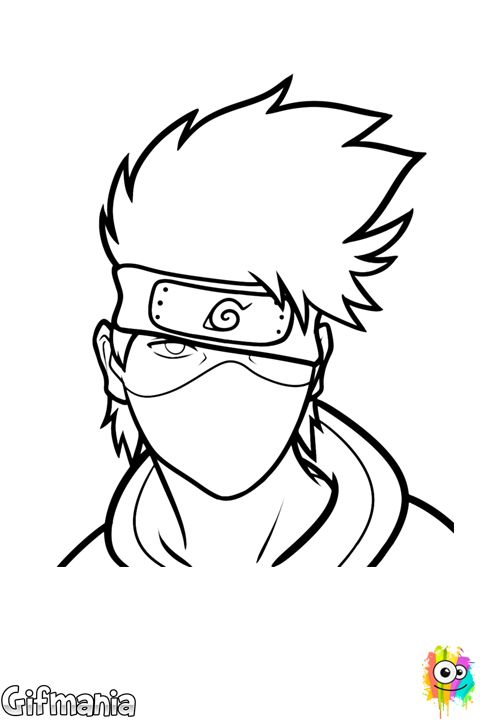 Kakashi Drawing Easy Drawing Tutori Kakashi