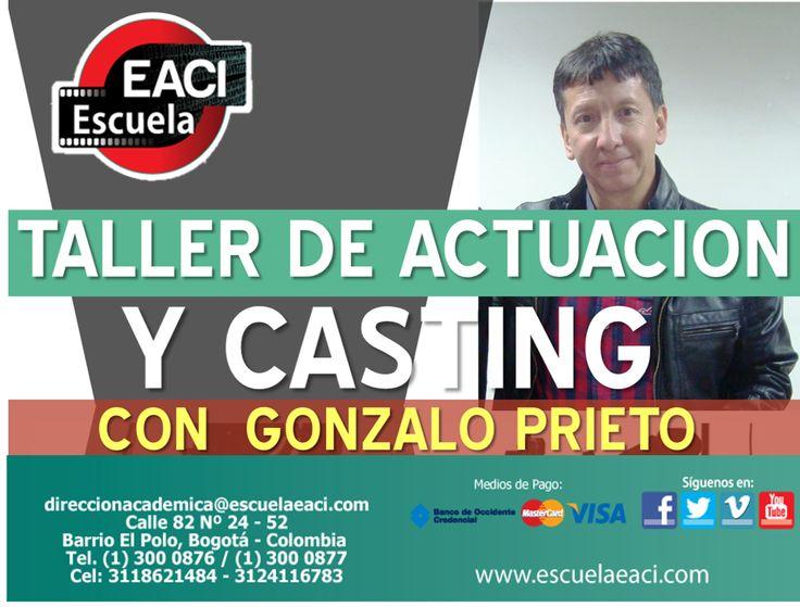 Taller de Actuación y Casting con Gonzalo Prieto