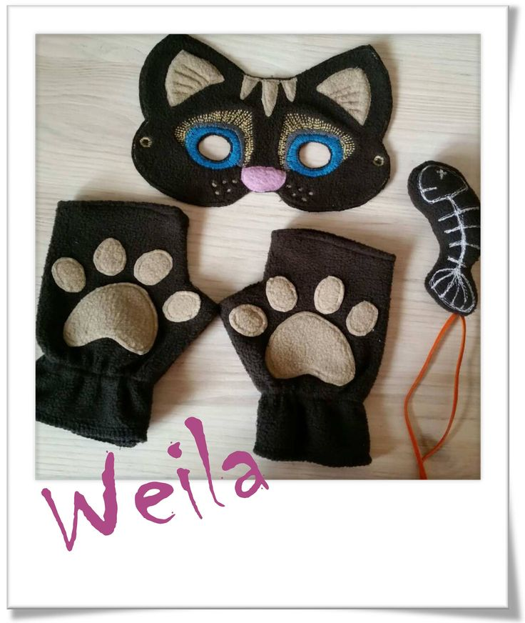 Cat Mask (Only mask) Embroidery Machine Patterns Design