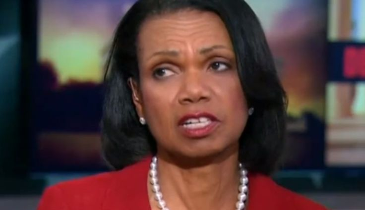Condoleeza Rice Shuts Down MSNBC's Trump is a Racist Claims