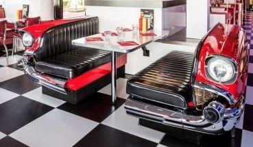 17 meilleures images propos de retro diner party sur. Black Bedroom Furniture Sets. Home Design Ideas