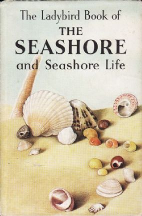 THE SEASHORE & SEASHORE LIFE Ladybird Book Nature Series 536  First Edition 1964 Dust Cover