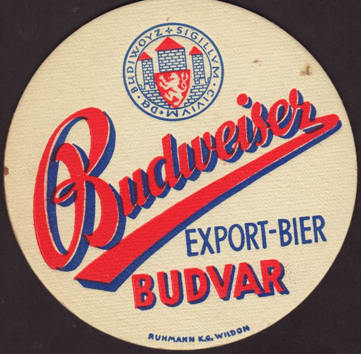 Beer coaster budvar-8