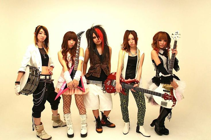 Japanese girl punk band-3722