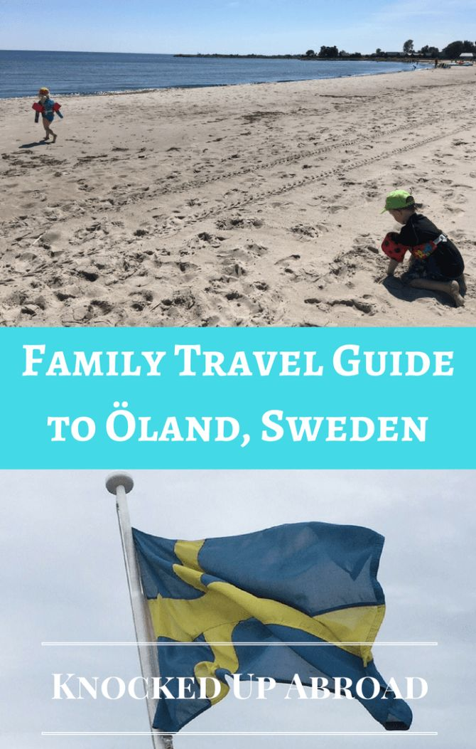 Family Travel Guide to Öland, Sweden - Knocked Up Abroad