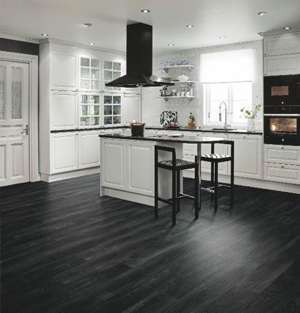 92 best laminate floor images on pinterest flooring - Laminate kitchen flooring ideas ...