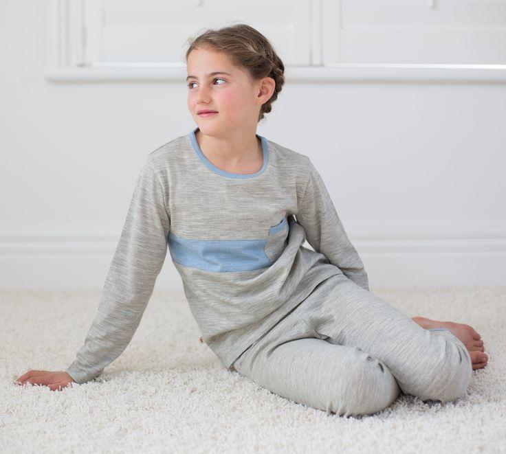 Merino Kids Pyjamas up to 10 years