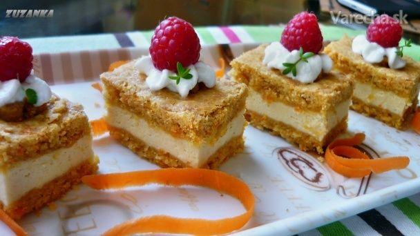 Mrkvový koláč plnený ricottou (fotorecept) - Recept