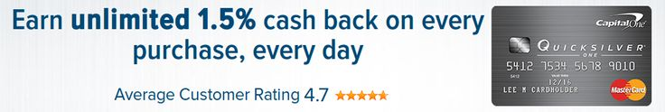 Earn unlimited 1.5% cash back on every purchase, every day and no rotating categories or sign ups needed to earn cash rewards; plus, cash back doesn't expire and there's no limit to how much you can earn. Get access to a higher credit line after making your first 5 monthly payments on time and fraud coverage if your card is ever lost or stolen.