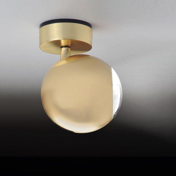 Bola LED Wand- und Deckenstrahler gold -  - A052340.003
