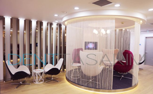 Shambala Aesthetic Clinic Interior Design and implementation by ND Mimarlık and Denttasarim, Aesthetic Clinic waiting area