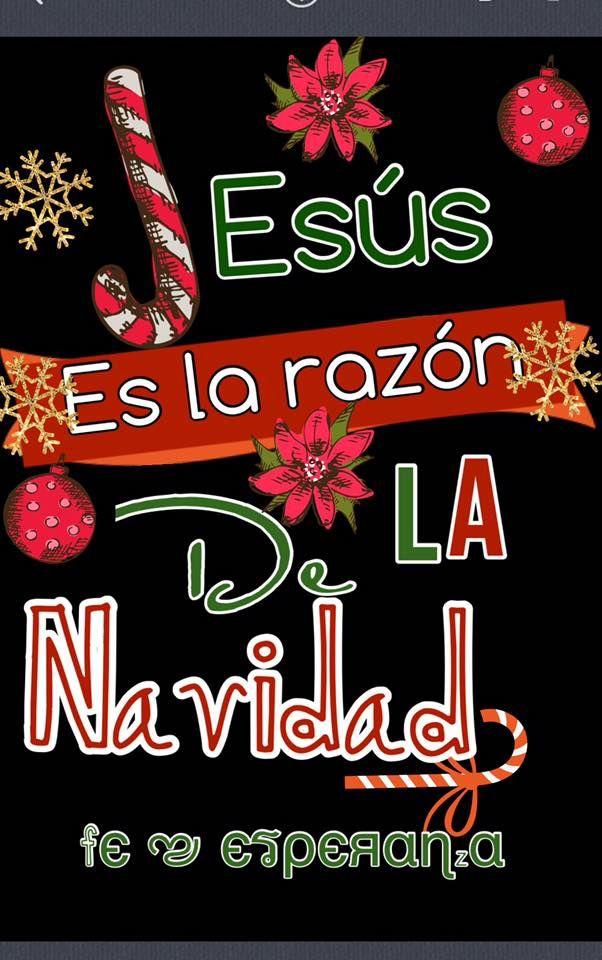 """""""Jesús es la razón de Navidad"""" :)"""