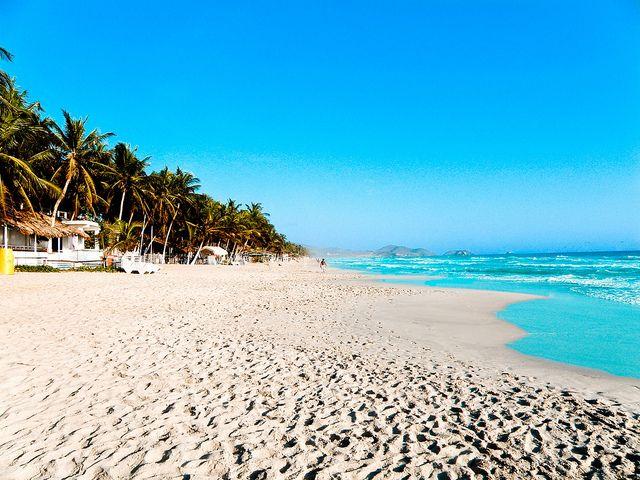 Playa el Agua, Isla de Margarita, Venezuela