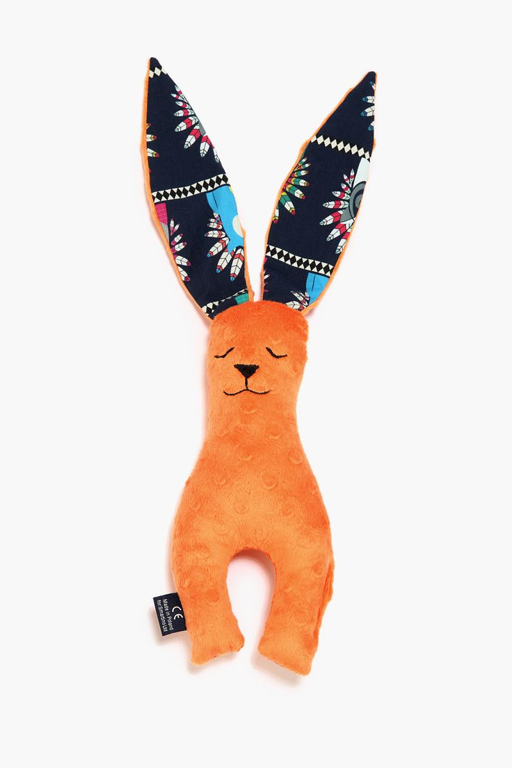 bunny orange with indian zoo collection