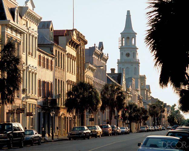 St. Michael's Church on Broad Street in Charleston, South Carolina
