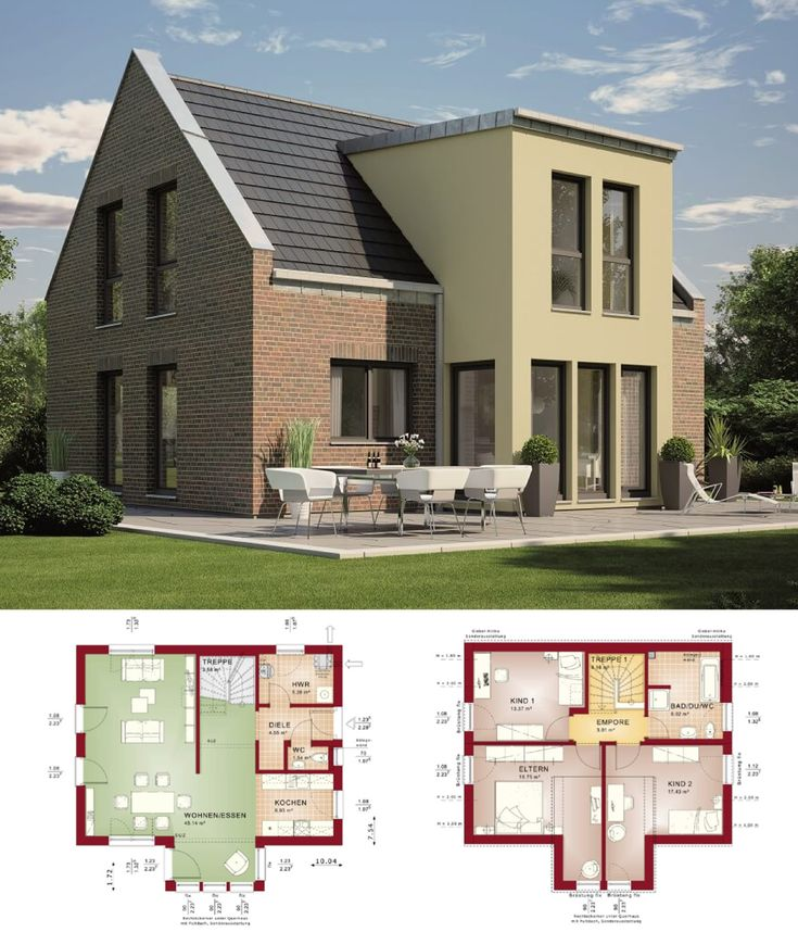 Einfamilienhaus Modern Holzhaus Satteldach Flachdach Mit: 40 Best Architect Project Images On Pinterest