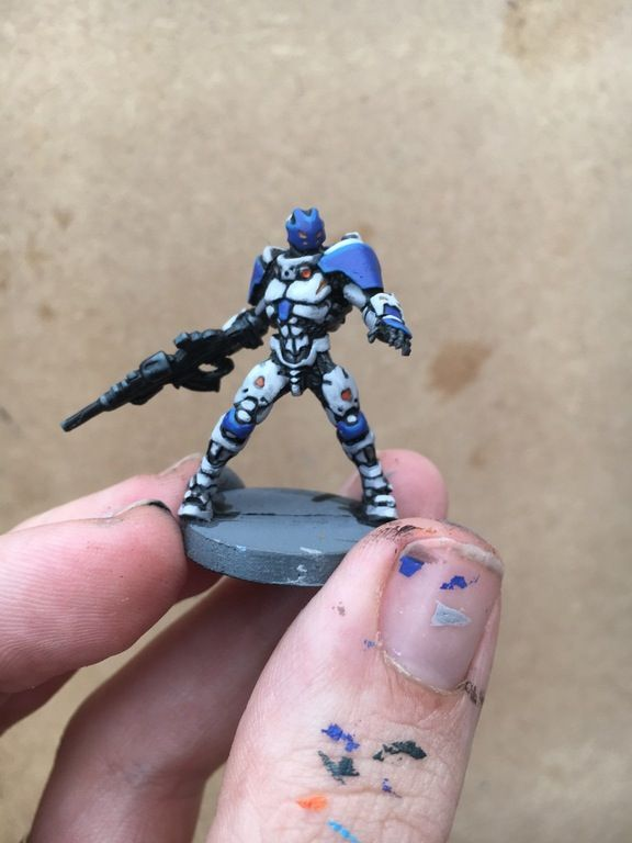 First Infinity model - Pan O test colour scheme : InfinityTheGame