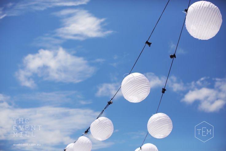 Lantern Festoon #festoon #lighting #wedding #party #lantern #reception