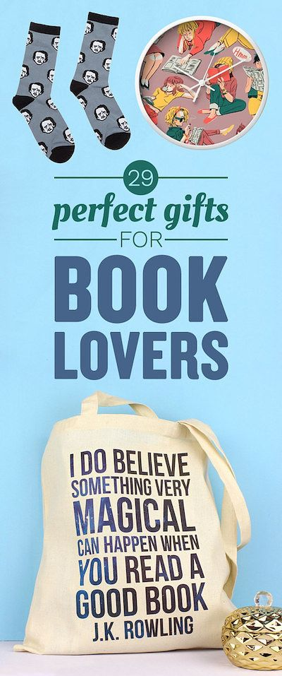 29 Perfect Gifts For Book-Lovers